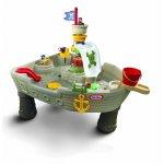 Little Tikes 628566E3 Vodní stůl pirátská loď