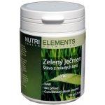 Nutri Elements Mladý zelený ječmen dóza 100 gramů