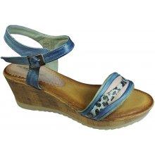 Deska Dámské sandály na klínku 29906