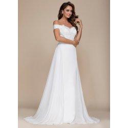Glamor luxusní svatební šaty s odhalenými rameny šampaň alternativy ... 0030a01acd2