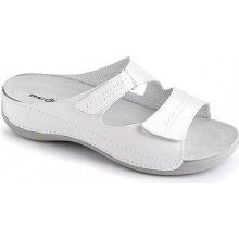 8eee1b66291e Dámské pantofle Medistyle Šárka bílé