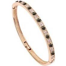 Náramek Bagisimo Zlatý elegantní Swarovski Elements Crystal 182330963