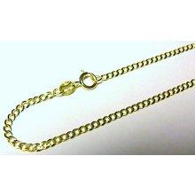 Náramek pevný silný zlatý nářamek očka ze žlutého zlata T058