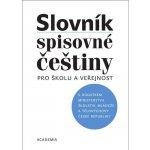 Slovník spisovné češtiny pro školu a veřejnost - Vlasta Červená