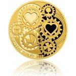 Česká mincovna 2018 Svatební dukát s věnováním 3,49 g