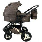 Babysportive Allivio Len 2015 kombinovaný hnědý