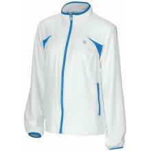 souprava dívčí Wilson WRA421150 Junior Stretch Woven Warm-Up bílá modrá