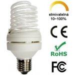 Aussmak LCD CCFL Stmívatelná žárovka 9W Teplá bílá E27