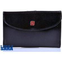 Genevian 03 2708 01 dámská kožená peněženka černá