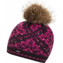 69cce18343f Eisbär Dalia Fur Crystal Womens Black Purple Pink