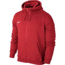 Nike Team Club Full Zip Hoody 6 ks červená bílá UK Junior