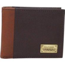 Tommy Hilfiger pánská peněženka Men s Billfold Passcase Brown 22f48d38c9
