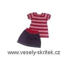 Dívčí souprava LOLLA tunika+sukně