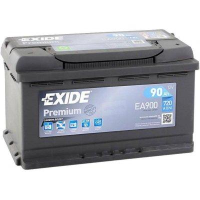 Exide Premium 12V 90Ah 720A EA900