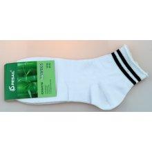 Pesail pánské bambusové zdravotní kotníkové ponožky bílé ed8980e912