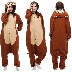 9e33b88f9a9 Kigurumi. Karnevalový kostým OPICE originální kigurumi pyžamo overal