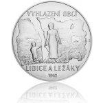 Česká mincovna Stříbrná kilogramová mince Lidice a Ležáky stand 1000 g