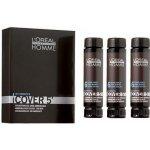 L´Oréal Homme Cover 5 Hair Color M 5 Light Brown světle hnědá barva na vlasy 3 x 50 ml
