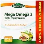 Naturline Mega Omega 3 1000 mg rybí olej 90 tbl.