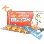 Tadacip 20 mg - 1 balení 4 ks