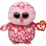 Beanie Boos PINKY růžová sova 15 cm