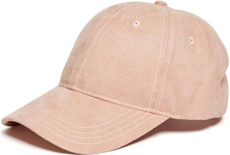 Guess Dámská kšiltovka Faux Suede růžová blush ns alternativy - Heureka.cz 319d946068