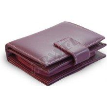 Arwel Dámská kožená peněženka 511 5937 se zápinkou fialová