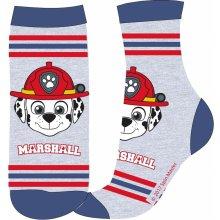 E plus M Chlapecké ponožky Paw Patrol - šedo-modré