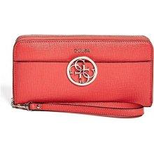 3891cd7e617 Guess Dámská peněženka Kamryn Large Zip Around červená