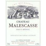 Malescasse Malescasse Cru Bourgeois / HautMédoc červené 2006 0,7 l