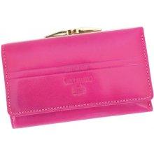 Emporio Valentini 563 PL10 fuchsie dámská kožená peněženka