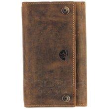Greenburry Kožená peněženka 1820S 25 Brown