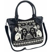 Banned Anubis kabelka černá  bílá d6b427a793