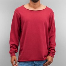 Cyprime / Jumper Wide Round Neck in red