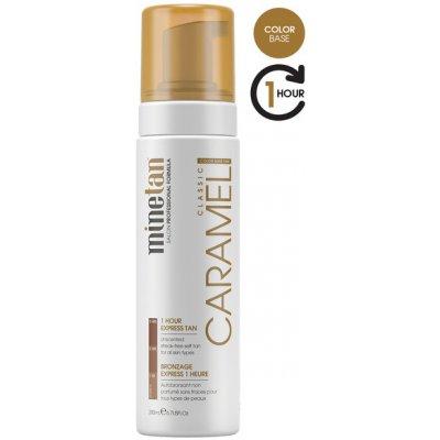 Minetan samoopalovací pěna pro zlatavé opálení Caramel (Classic 1 Hour Express Tan) 200 ml