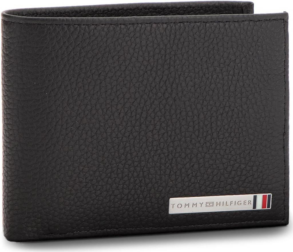 a69a5c35d3d Tommy Hilfiger Velká pánská peněženka Th Plaque Cc Flap An AM0AM03642 002