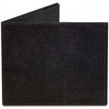 Mighty peněženka wallet Black Leather