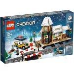 Lego Creator 10259 Nádraží v zasněžené vesnici