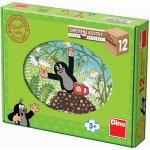 Dino Kostky kubus Krtečkův rok 12ks v krabičce 22x17x4cm