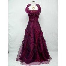 Fialové bohaté princess šaty do společnosti na ples svatbu