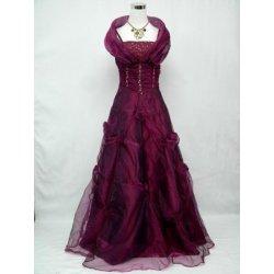 Fialové princeznovské šaty na maturitní ples či svatební šaty ... cd717b0c14