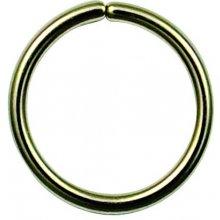 Kroužek pozlacený ZK7235