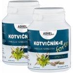 Adiel Kotvičník zemní FORTE s vitamínem E 2 x 90 cps.
