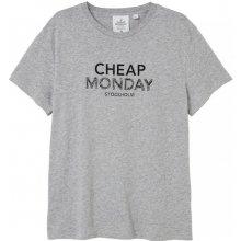 Cheap Monday Doodle Logo Tee Grey