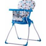Caretero Jídelní židlička Practico Blue