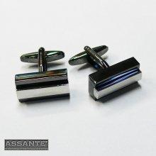 Assante manžetové knoflíky 90524 stříbrné
