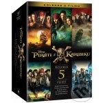 Piráti z Karibiku 1-5 DVD