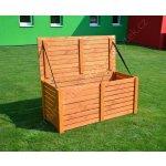 BOX na podušky dřevěný - truhla na polstry a nářadí dřevěná výrobce ROJAPLAST 97/4