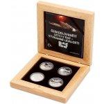 Česká mincovna Sada čtyř stříbrných mincí Českoslovenští letci v RAF Významné události proof 64 g