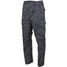 US bojové kalhoty BDU Rip Stop černé